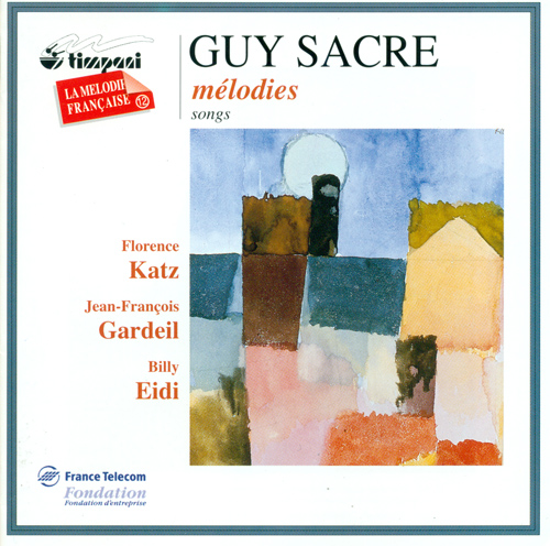 SACRE, G.: Vocal Music (Katz, Gardeil)