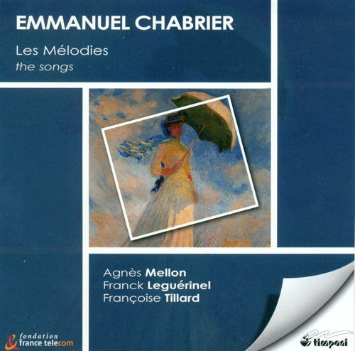 CHABRIER, E.: Vocal Music (Mellon, Leguerinel)