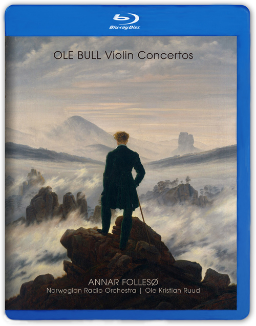 BULL, O.B.: Violin Concerto in A major / Concerto Fantastico / The Herd-girls' Sunday / A Mountain Vision (Folleso, Norwegian Radio Orchestra, Ruud)