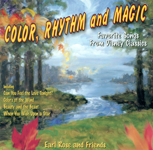 FAVORITE SONGS FROM DISNEY CLASSICS - Color, Rhythm and Magic (Rose)