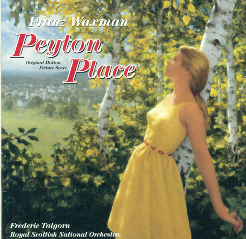 WAXMAN, F.: Peyton Place (Royal Scottish National Orchestra, Talgorn)