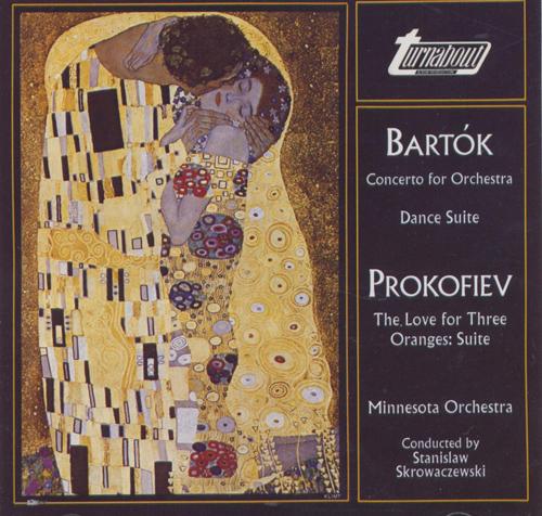 BARTOK, B: Concerto for Orchestra / Dance Suite / PROKOFIEV, S.: Love for the Three Oranges Suite (Minnesota Orchestra, Skrowaczewski)