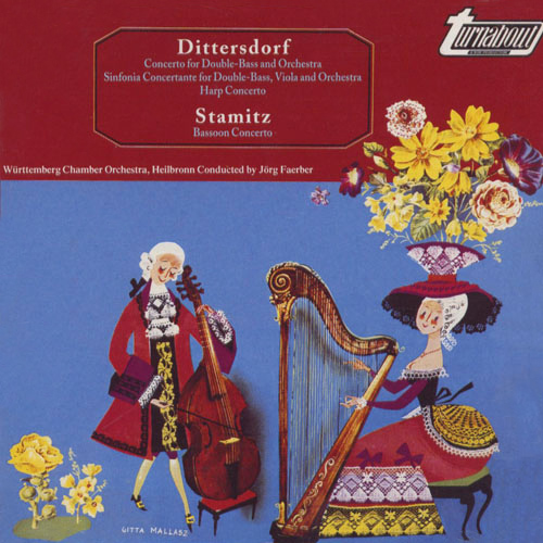 DITTERSDORF, C.D. von: Double Bass Concerto in E major / Sinfonia Concertante in D major / Harp Concerto in A major (Faerber)