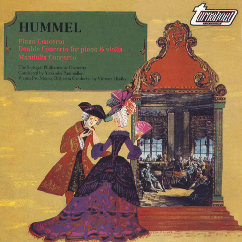 HUMMEL, J.N.: Piano Concerto No. 2 / Concerto for Piano and Violin, Op. 17  / Mandolin Concerto, S28 (Galling, Lautenbacher, Bauer-Slais)