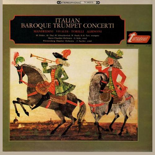 Trumpet Music (Baroque) - MANFREDINI, F.O. / VIVALDI, A. / TORELLI, G. / ALBINONI, T.G. / TELEMANN, G.P. / PURCELL, H. (Baroque Trumpet Concertos)