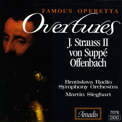 OFFENBACH / STRAUSS II / SUPPE: Famous Operetta Overtures