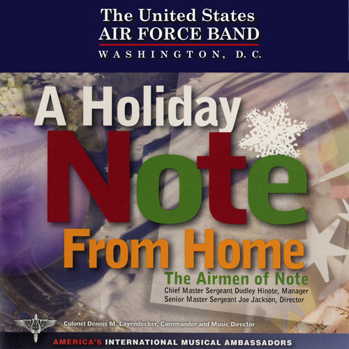 UNITED STATES AIR FORCE AIRMEN OF NOTE: Holiday Note From Home (A)