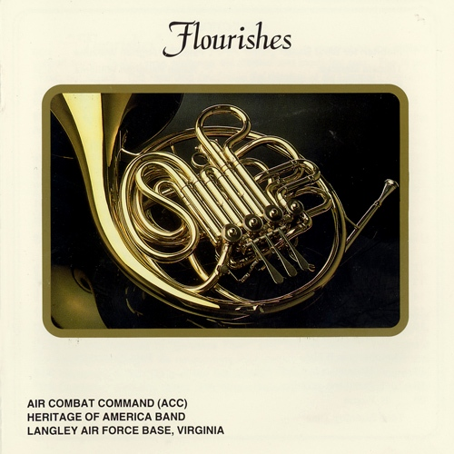 AIR COMBAT COMMAND HERITAGE OF AMERICA BAND: Flourishes