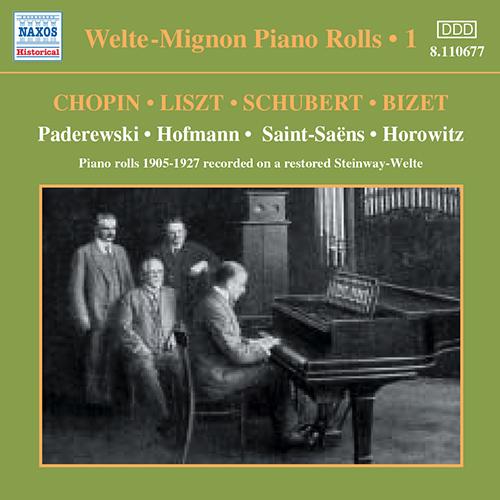 Welte-Mignon Piano Rolls, Vol.  1 (1905-1927)