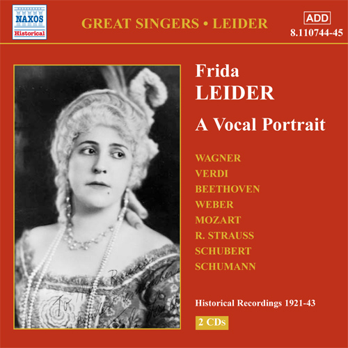 LEIDER, Frida: A Vocal Portrait (1921-1943)