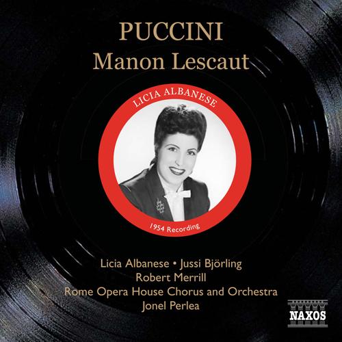 PUCCINI: Manon Lescaut (Albanese, Bjorling, Perlea) (1954)