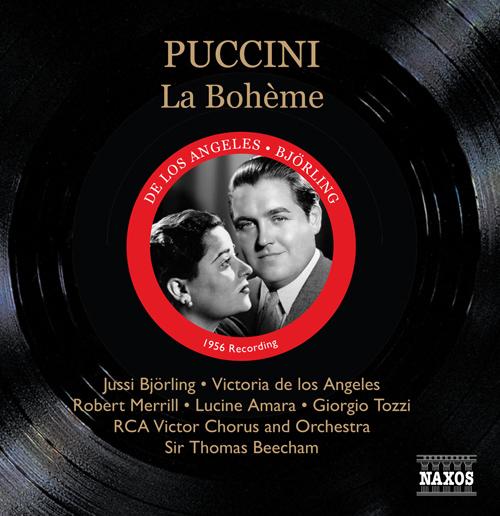 PUCCINI: Boheme (La) (Bjorling, de los Angeles, Beecham) (1956)