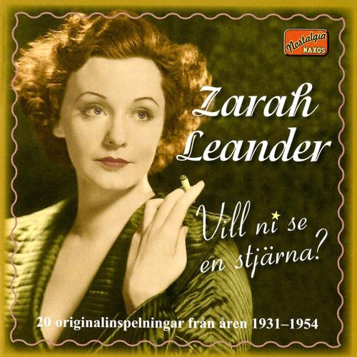 LEANDER, Zarah: Vill ni se en stjarna? - 20 Original Recordings (1931-1954)