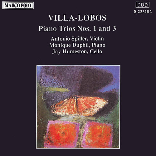 VILLA-LOBOS: Piano Trios Nos. 1 and 3