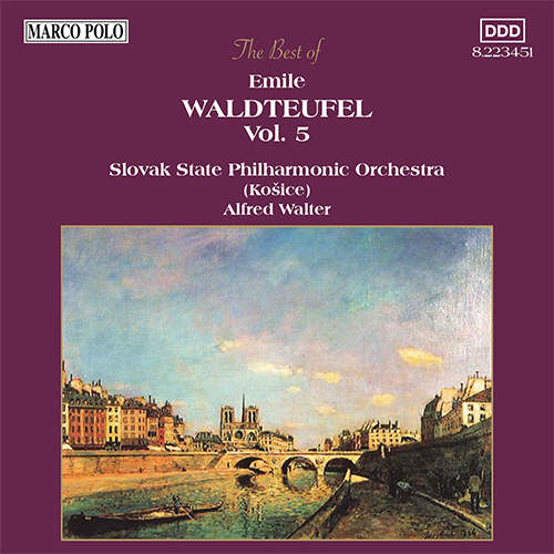 WALDTEUFEL: The Best of Emile Waldteufel, Vol.  5