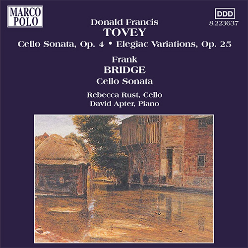 TOVEY / BRIDGE: Cello Sonatas