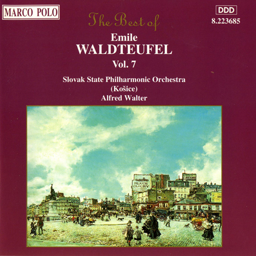 WALDTEUFEL: The Best of Emile Waldteufel, Vol.  7