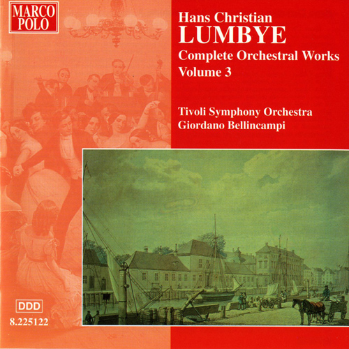 LUMBYE: Orchestral Works, Vol.  3