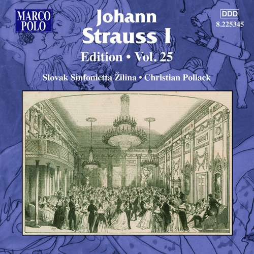 STRAUSS I, J.: Edition - Vol. 25