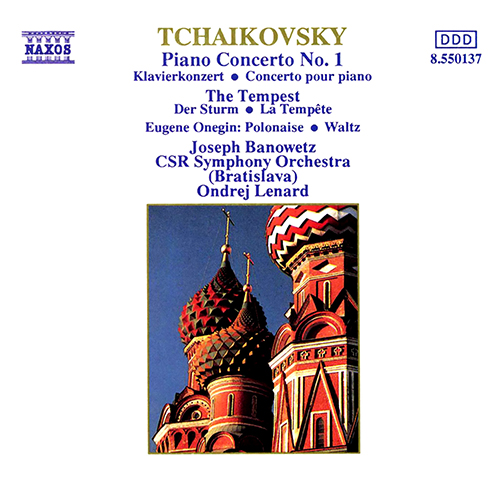 TCHAIKOVSKY: Piano Concerto No. 1 / The Tempest