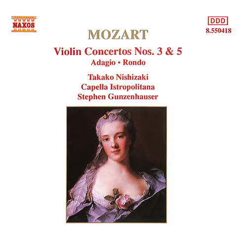 MOZART, W.A.: Violin Concertos Nos. 3 and 5