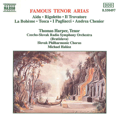 FAMOUS TENOR ARIAS (Thomas Harper)