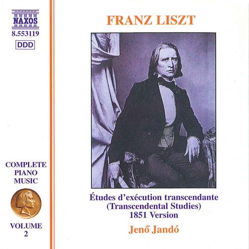LISZT, F.: 12 Etudes d'exécution transcendante (Liszt Complete Piano Music, Vol. 2)