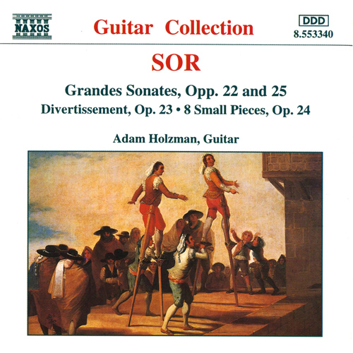 SOR: Grande Sonates, Opp. 22 and 25 / Divertissement, Op. 23
