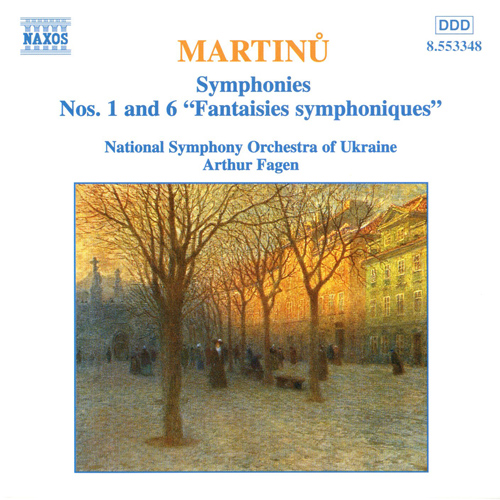 MARTINU, B.: Symphonies Nos. 1 and 6