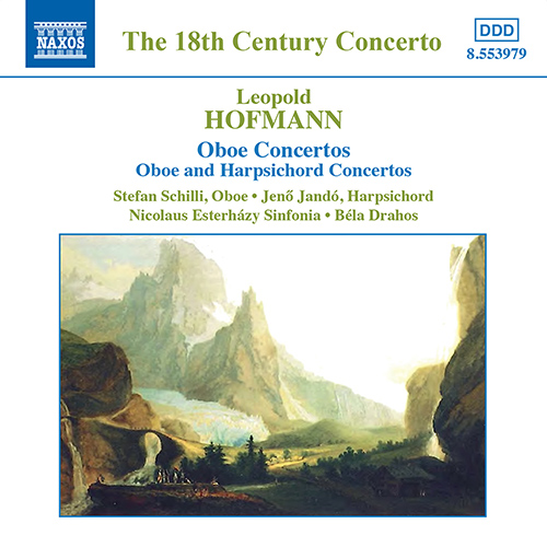 HOFMANN, L.: Oboe Concertos / Concertos for Oboe and Harpsichord