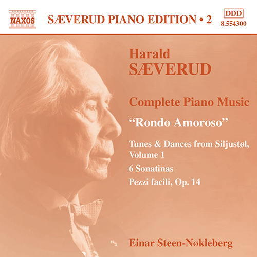 SAEVERUD: Complete Piano Music, Vol. 2
