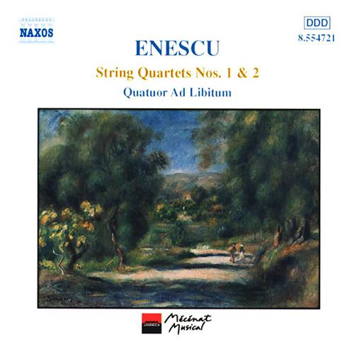 ENESCU: String Quartets Nos. 1 and 22