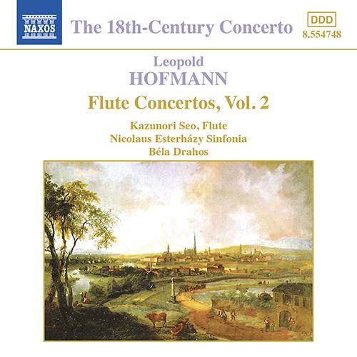 HOFMANN, L.: Flute Concertos, Vol. 2