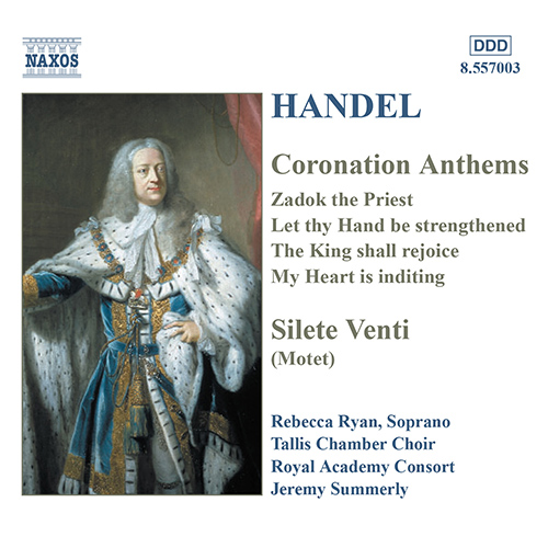 HANDEL: Coronation Anthems / Silete Venti