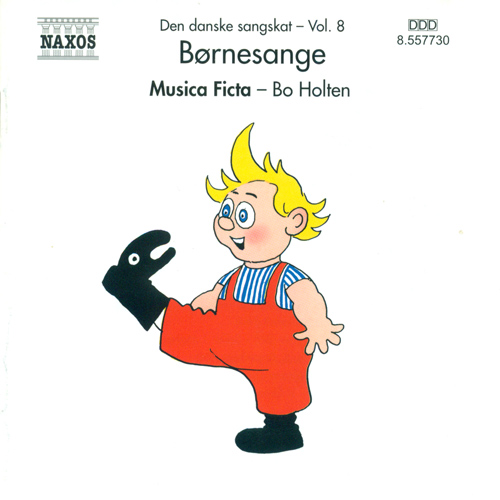 Danish Folksongs, Vol. 8 (Children's Songs) (Musica Ficta, Holten)