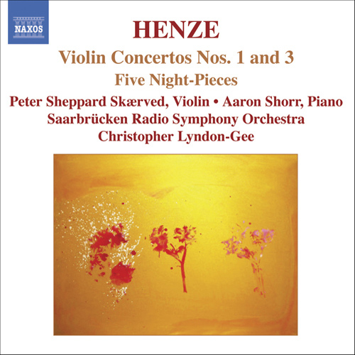 HENZE, H.W.: Violin Concertos Nos. 1 and 3 / 5 Night-Pieces