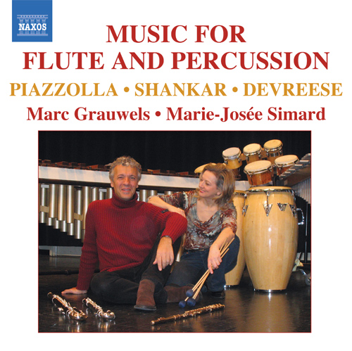 GRAUWELS, Marc: Music for Flute and Percussion