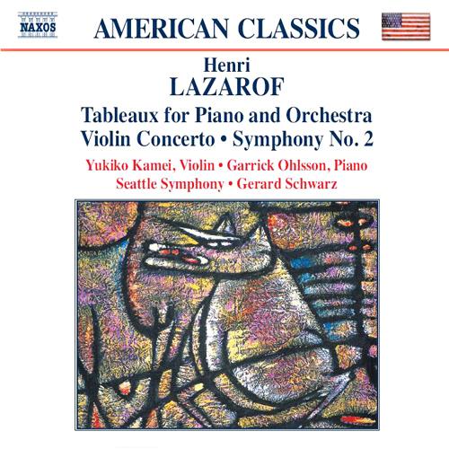 LAZAROF: Tableaux / Violin Concerto / Symphony No. 2