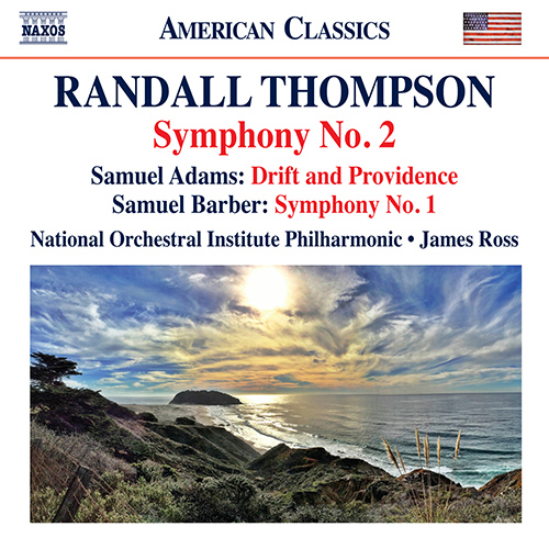 THOMPSON, R.: Symphony No. 2 / ADAMS, S.: Drift and Providence / BARBER, S.: Symphony No. 1