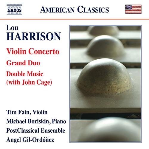 HARRISON, L.: Violin Concerto / Grand Duo / Double Music