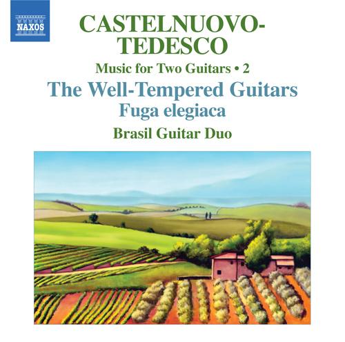 CASTELNUOVO-TEDESCO, M.: Music for Two Guitars, Vol. 2 - Fuga elegiaca / Les guitares bien temperees: Nos. 13-24