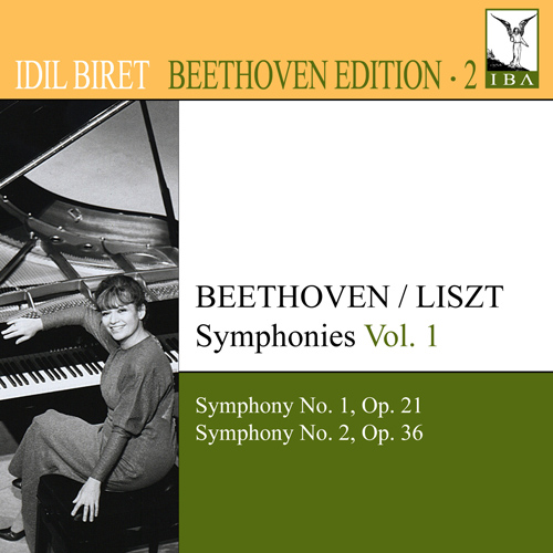 BEETHOVEN, L. van: Symphonies (arr. F. Liszt for piano), Vol. 1 (Biret) - Nos. 1, 2 (Biret Beethoven Edition, Vol. 2)