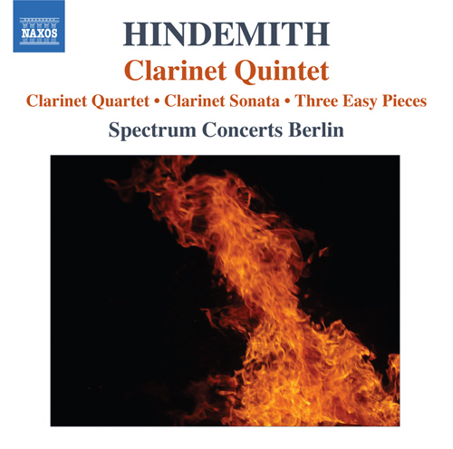 HINDEMITH, P.: Quartet for Clarinet and Piano Trio / Clarinet Sonata / 3 Leichte Stucke / Clarinet Quintet