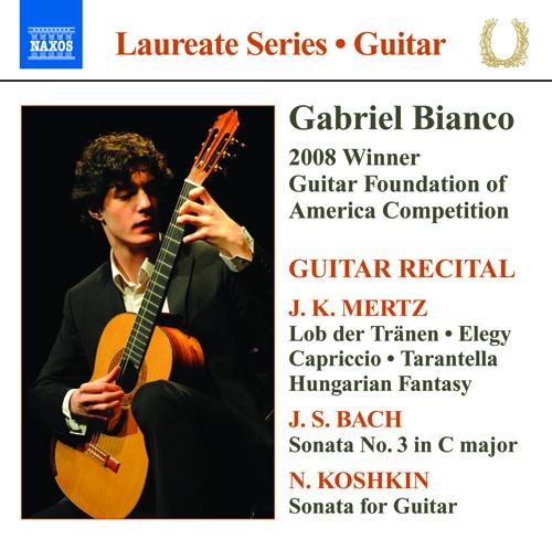 Guitar Recital: Bianco, Gabriel - MERTZ, J.K. / BACH, J.S / KOSHKIN, N.