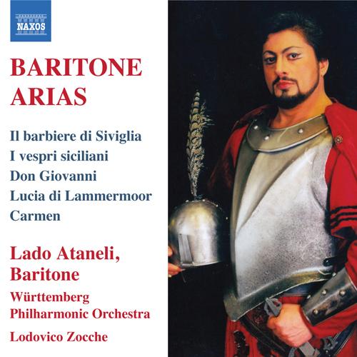 Opera Arias (Baritone): Ataneli, Lado - VERDI, G. / ROSSINI, G. / MOZART, W.A. / DONIZETTI, G. / LEONCAVALLO, R. / MASSENET, J. / BIZET, G.