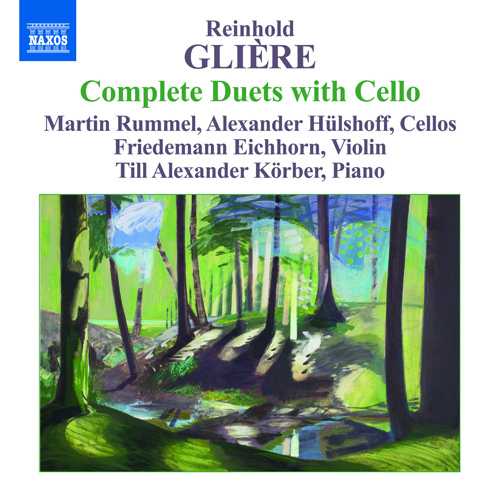 GLIERE, R.: Duets with Cello (Complete) - 8 Pieces, Op. 39 / Ballad / 10 Duos / 12 Pieces, Op. 51