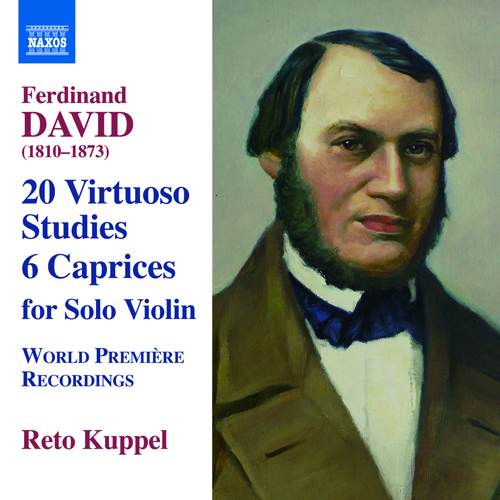 DAVID, F.: 20 Virtuoso Studies / 6 Caprices, Op. 9