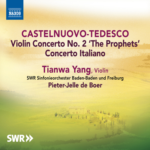 CASTELNUOVO-TEDESCO, M.: Violin Concertos Nos. 1 and 2