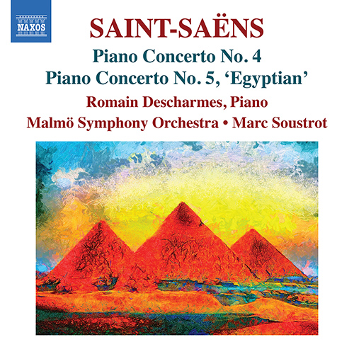 SAINT-SAËNS, C.: Piano Concertos, Vol. 3 - Nos. 4 and 5