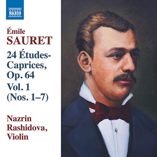 SAURET, É.: 24 Études Caprices, Vol. 1 - Nos. 1-7